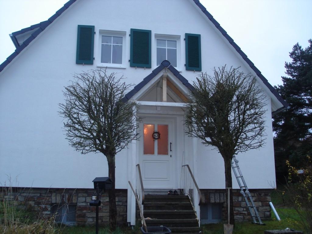 Vordach Holzhausen