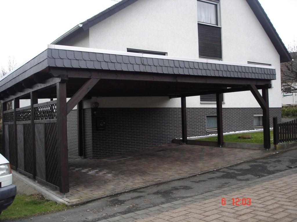 Carport 2 Holzhausen