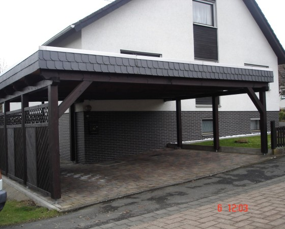 Carport 2 Holzhausen