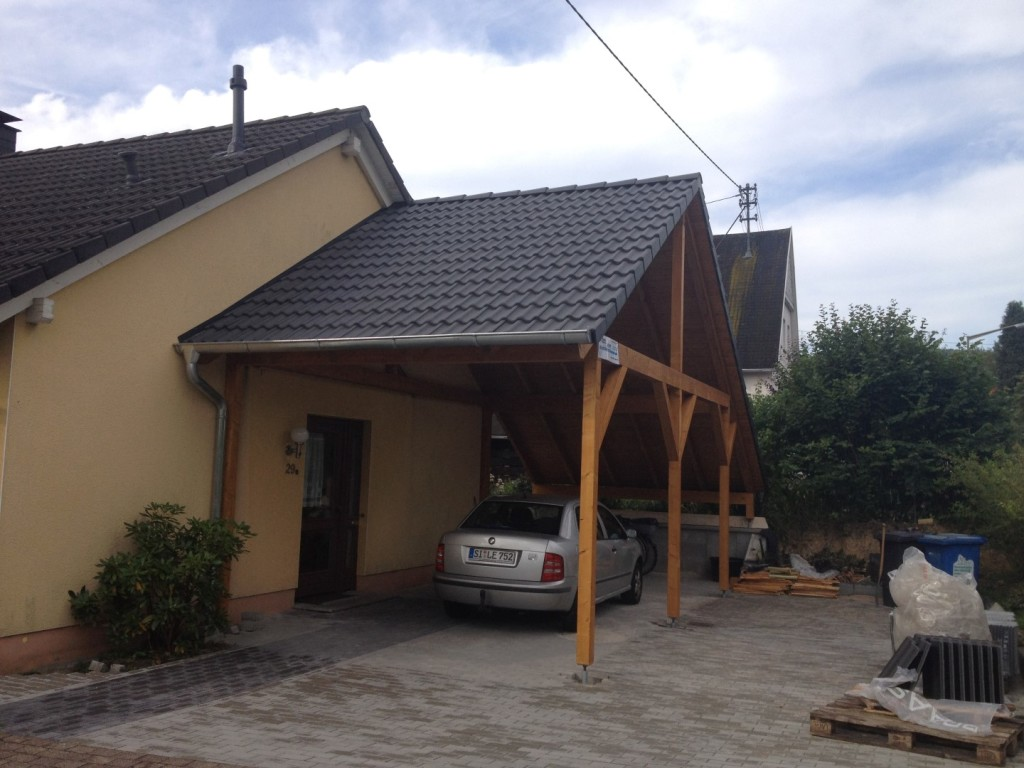 Carport 1 Holzhausen