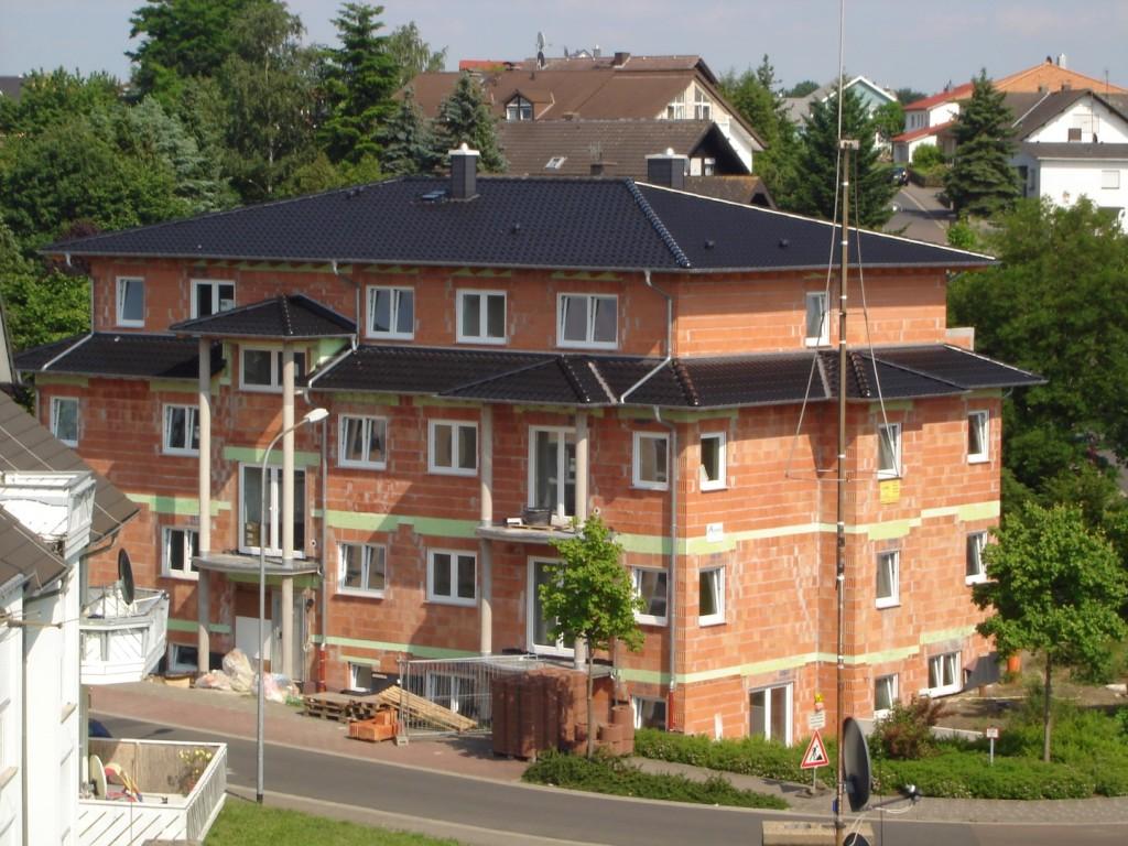 Dachstuhl 5 mit Dacheindeckung