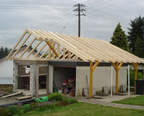 Garage 2 mit Anbau