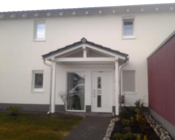 Vordach Holzhausen 2